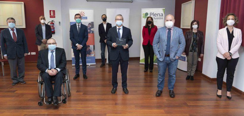 La central de compras de Plena Inclusión Madrid recibe el Premio CERMI